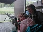 A Swiss teenager competing with her fully automatic assault rifle.