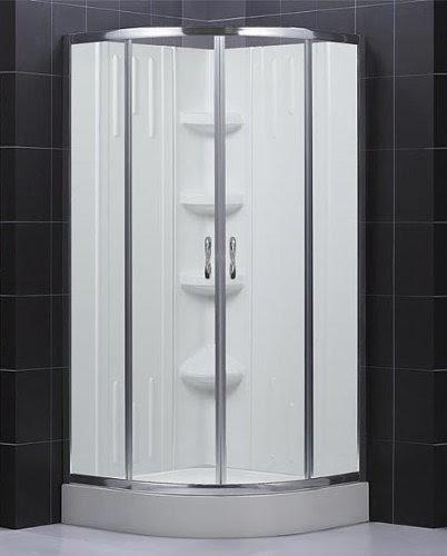 Hot Deals Dreamline Shower Kit Corner Shower Base With