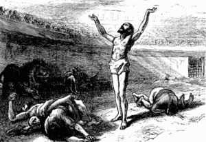 English: Persecution of the Christians