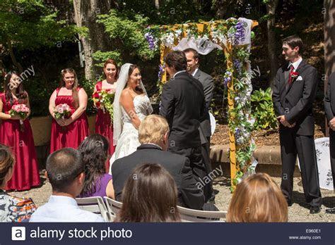 Bride Groom Exchange Vows Stock Photos & Bride Groom