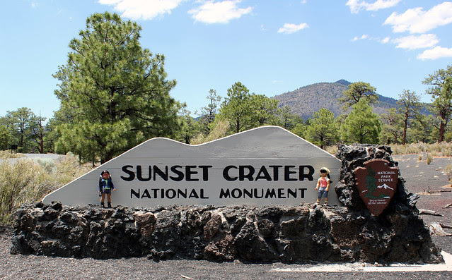 Sunset Crater!