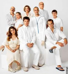The cast of Arrested Development.