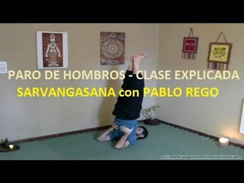 Video: Paro de Hombros - Sarvangasana - Clase completa