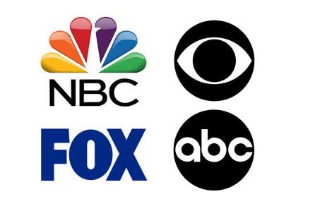 NBC CBS Fox ABC