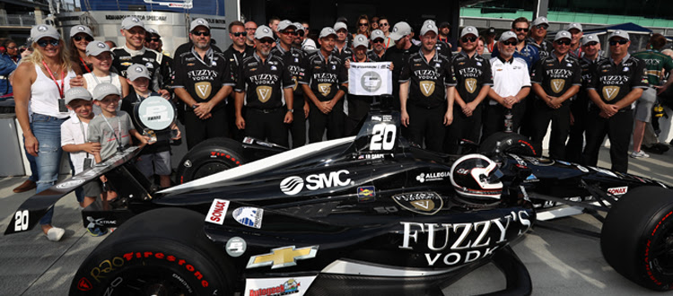 Ed Carpenter Becomes Three Time Pole Winner For The