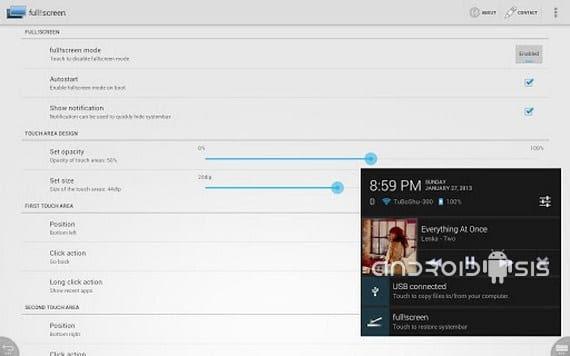 fullscreen para sacar provecho a toda la pantalla de tu dispositivo 2 Copiar Fullscreen, para sacar provecho a toda la pantalla de tu dispositivo