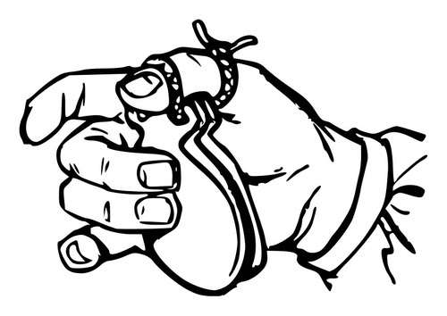 Coloring page Castanet