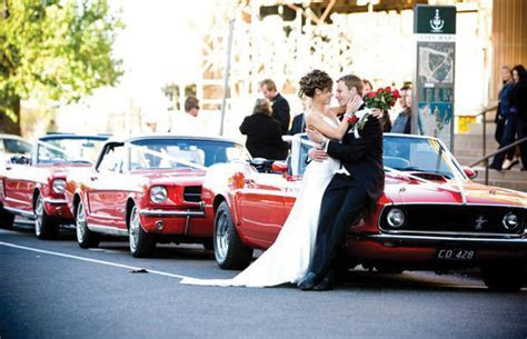 Sydney Mustangs   Wedding Cars in Sydney