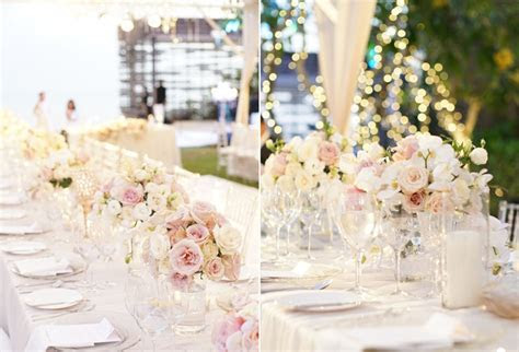 An Elegant Flowery Wedding with Shades of Blush and