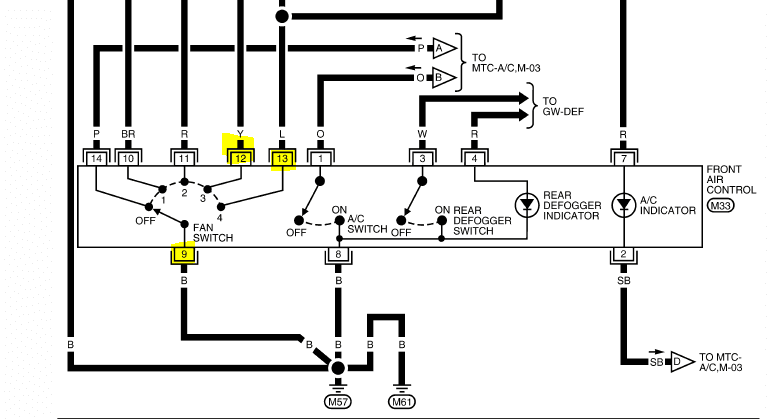 30 6 Wire Ignition Switch Diagram