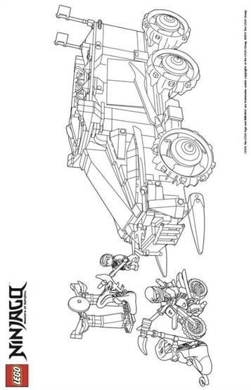 lego ninjago figuren bilder zum ausdrucken  malvorlagen