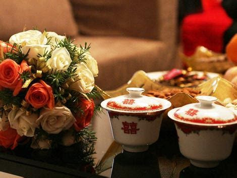Chinese wedding tea ceremony the most significant ceremony