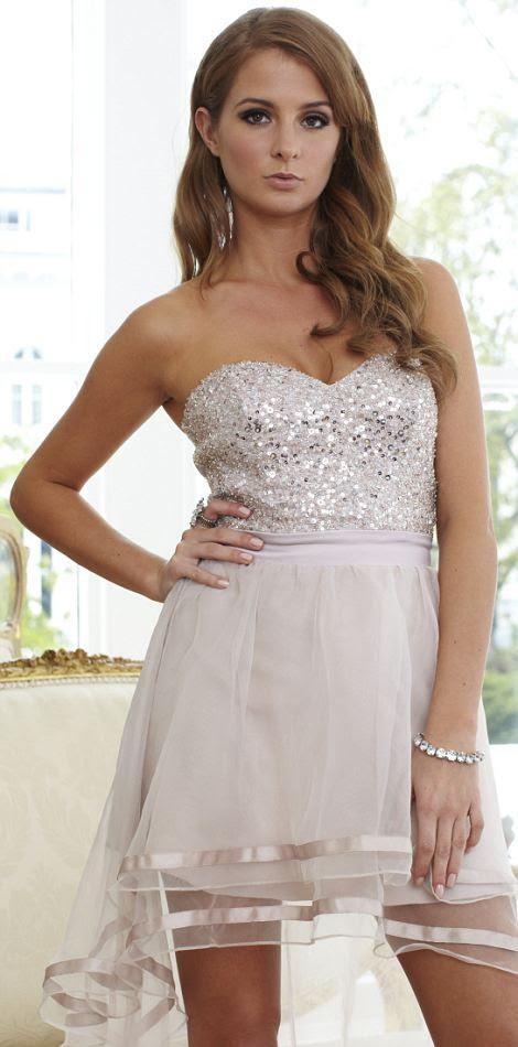 Dress £120.00 Bracelet £14.00 all by Lipsy