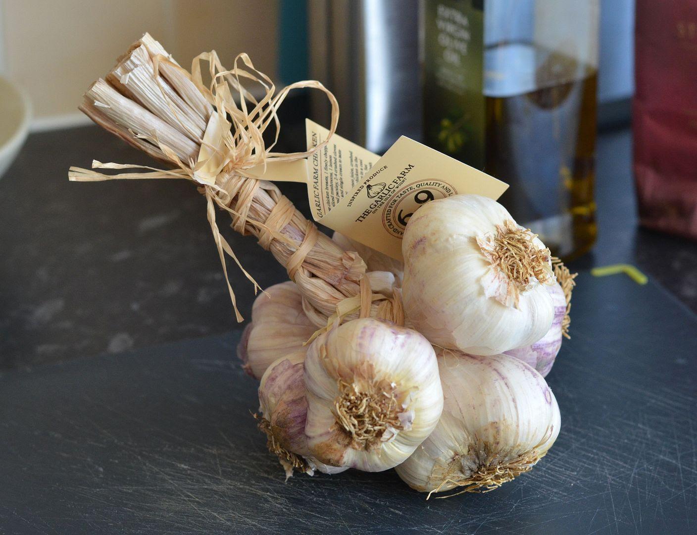 garlic grappe