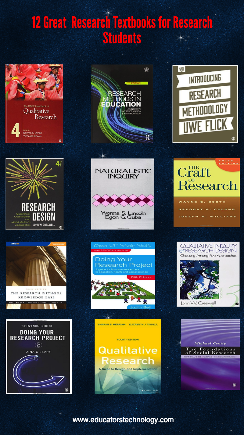 12 Must Read Research Methodology Textbooks for Research Students