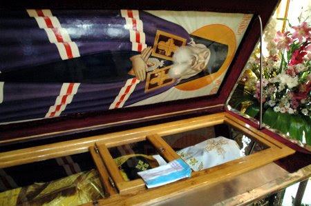 Τα λείψανα του Αγίου Λουκά (Voino-Yasenetsky)