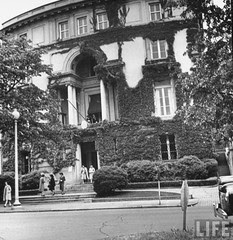 The exterior of the Egyptian Embassy in D.C in 1943