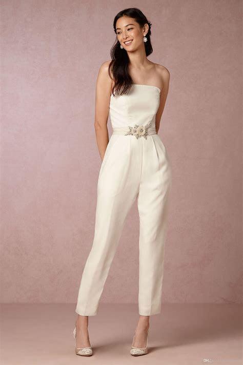elegant jumpsuit bridesmaid dresses  wedding