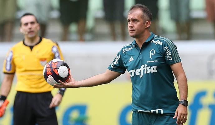Eduardo Baptista Palmeiras x Ferroviária (Foto: Cesar Greco/Ag Palmeiras/Divulgação)