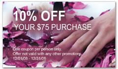 CPS-1054 - salon coupon card
