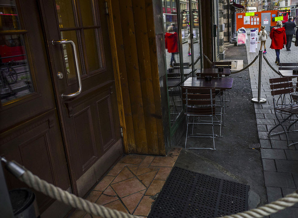 <p>STARTEN: Det var ved denne puben i Oslo sentrum at de danske undercover-agentene presenterte seg som kriminelle overfor Metkel Betews påståtte narkoliga for første gang i våres.<br/></p>