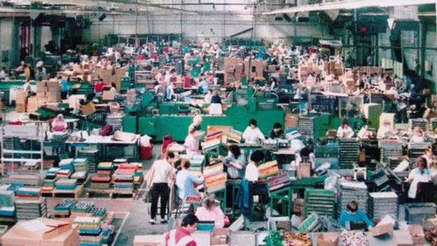 A factory where the model cars are built