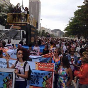 Marias Pretas no Mar de Copabana!