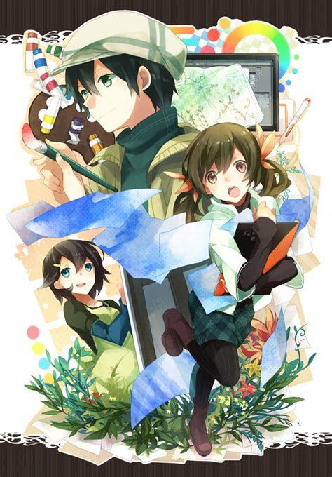 drawing pad zerochan anime image board