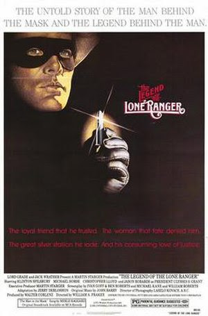 Film poster for The Legend of the Lone Ranger