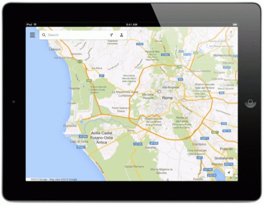 Google Maps Finally Available For The Ipad Gis Lounge