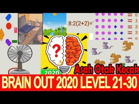 Jawaban Game Brain Out 2020 Level 21-30 | Asah Otak Kocak