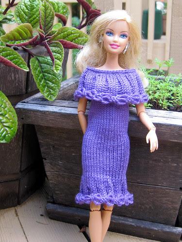 Olivia's Barbie Dress