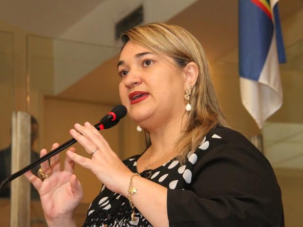 Vereadora Aline Mariano (Foto: Anderson Barros/Divulgação)