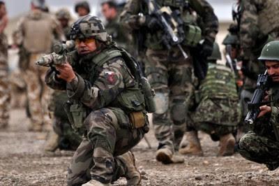 Novo conceito da NATO permitirá o alargamento do seu espaço de intervenção e aprofundar a sua posição de polícia do mundo. Foto de Isafmedia