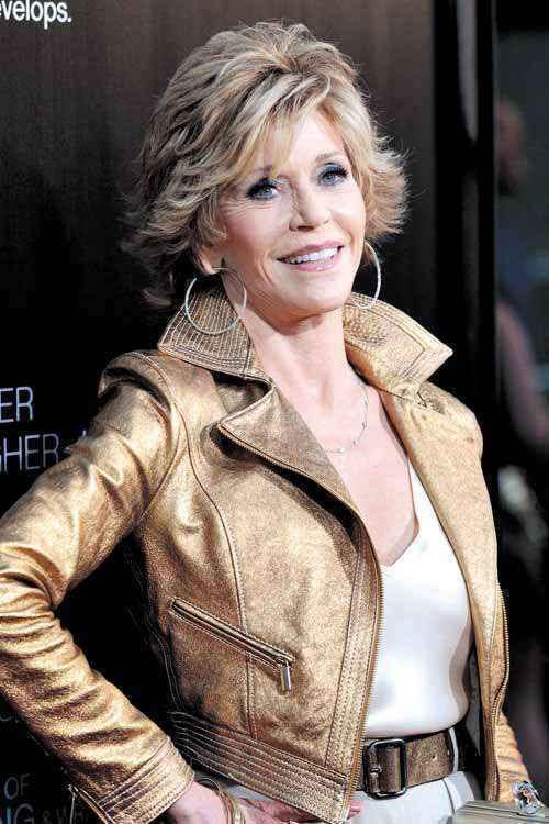 Jane Fonda armou-se de coragem e resolveu 'dar uma outra chance ao amor na velhice' (Mario Anzuoni/Reuters - 21/6/12 )