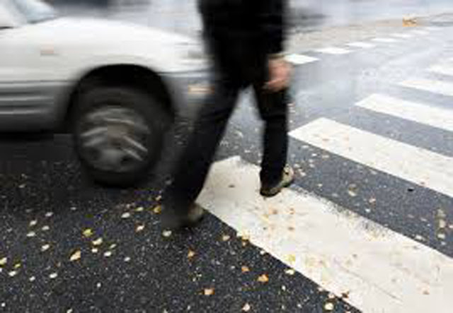 Car runs over two pedestrians: One killed, another injured