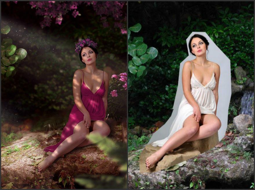Viktoria Solidarnyh'ın inanılmaz Photoshop çalışmaları 7