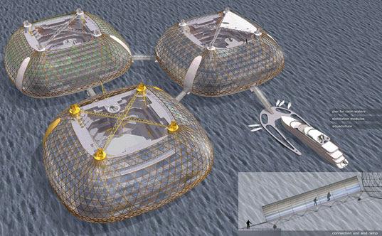 sesu seastead, ocean living, innovation, self sufficient, Marko Järvela, design competition, seasteading, modular platforms, hydrodynamics, new frontiers, community