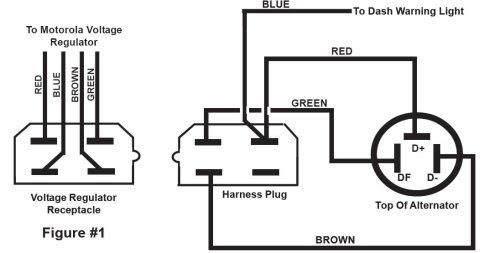 Alternator Plug Wiring Diagram