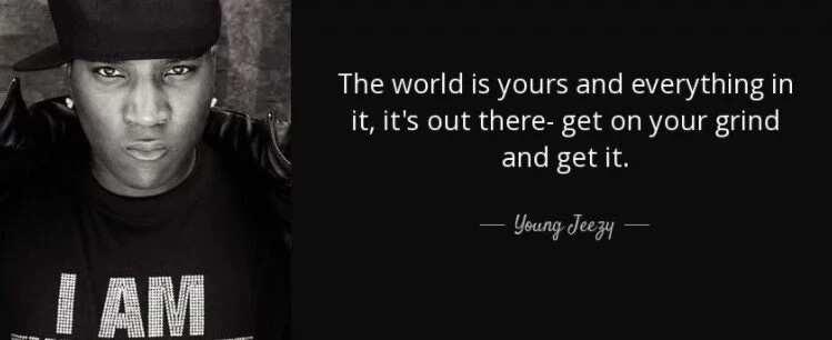 Famous Rap Qoutes - APHRODITE - Inspirational Quote