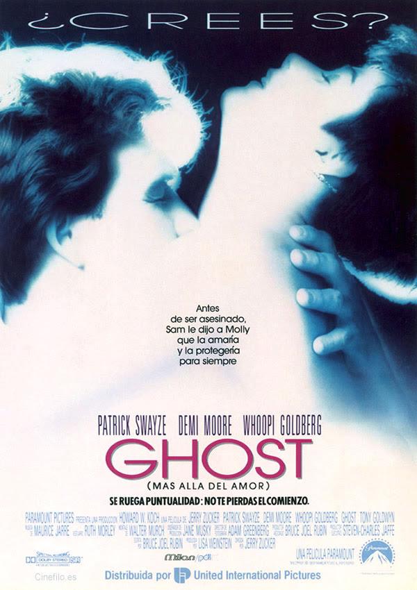 Resultado de imagen de ghost pelicula cartel