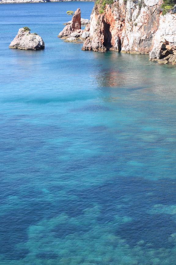 Stafilos beach