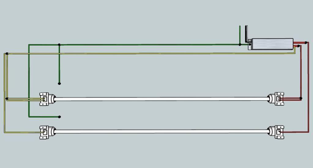 Wiring Database 2020  28 4 Lamp T5 Ballast Wiring Diagram