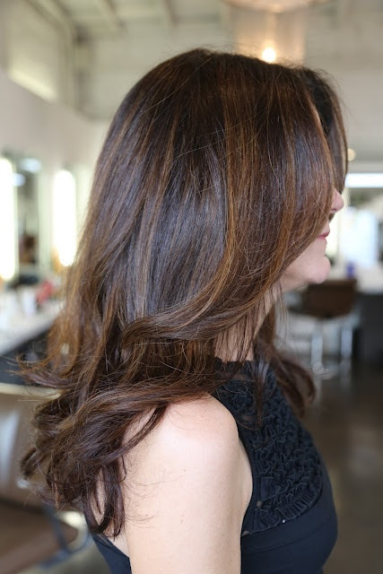 Medium Hairstyle for Brunette Hair