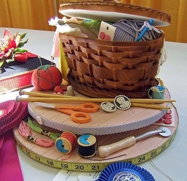 12 απίθανες υπερρεαλιστικές τούρτες που θα μπέρδευες εύκολα με άλλα πράγματα (9)