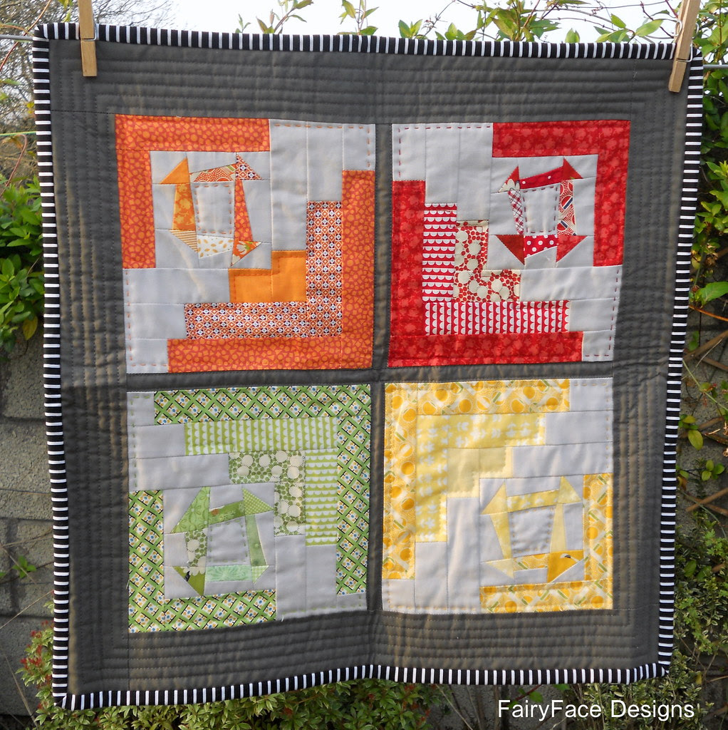 Doll quilt received