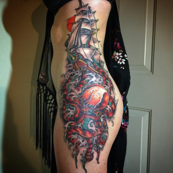 64 Rib Tattoos That Will Make You Want To Show Your Sides