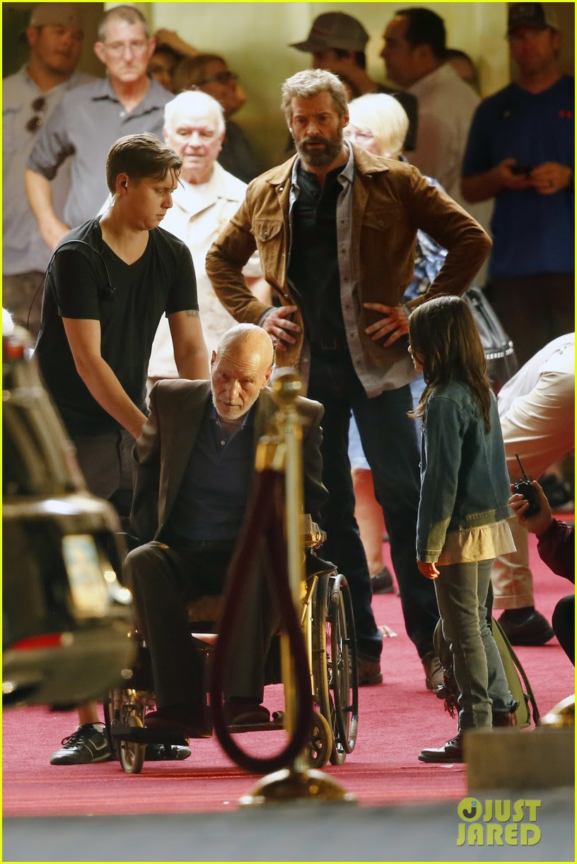hugh jackman films wolverine 3 scenes with patrick stewart 01