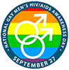 National Gay Men's HIV/AIDS Awareness Day logo