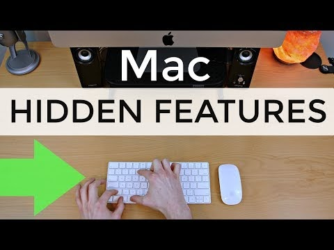A few Hidden Mac Tricks
